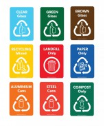 photograph regarding Recycle Labels Printable identify Recycling Labels Amount Boxes