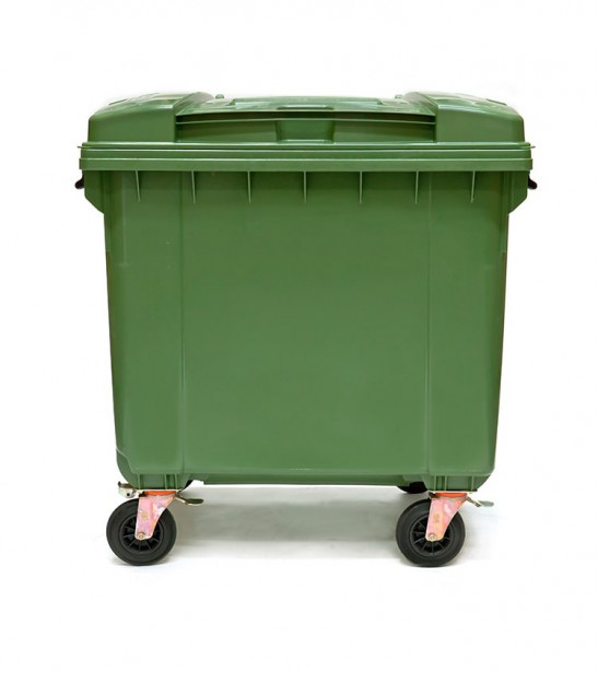 Mobile Garbage Bin 660l Total Bins