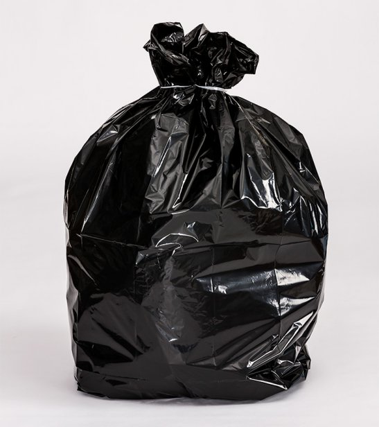 80l Black Rubbish Bag Dispenser Box Total Bins