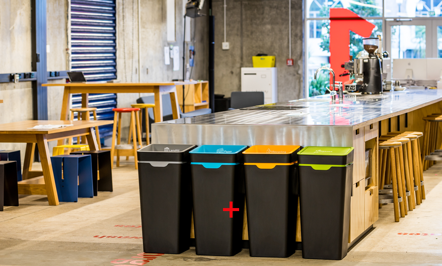 Sort your office recycling and waste & Total Bins | Bin solutions Wheelie bins Recycling bins Storage ...